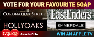 Win an Apple TV by voting in the TVGuide.co.uk Awards!