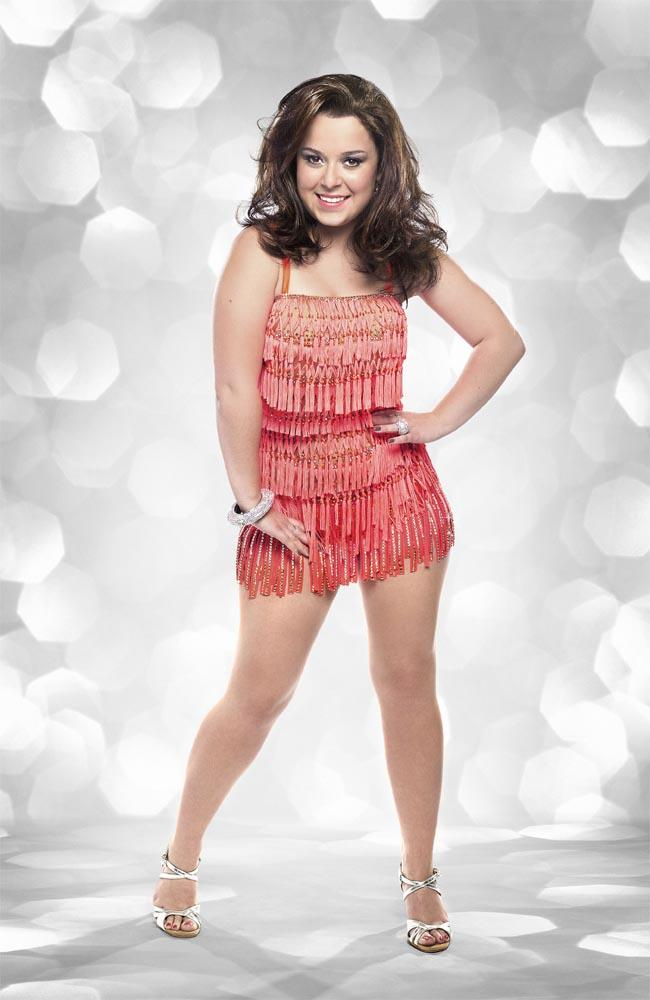 Dani Harmer: 'Strictly helps with heartache' - TV Guide UK TV Listings