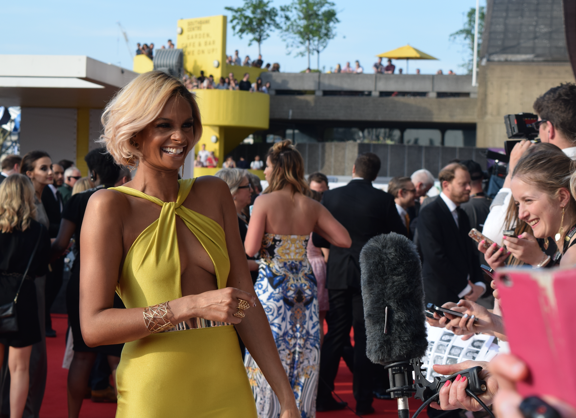 Could Britain's Got Talent judge Alesha Dixon be any more glowing and gorgeous?!