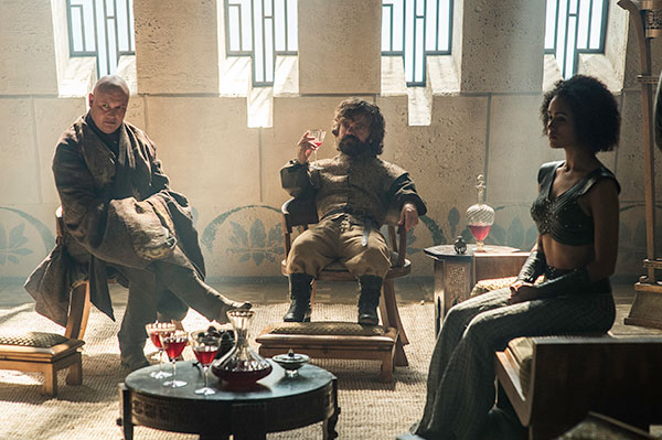 TYRION VARYS MISSANDEI Game of Thrones