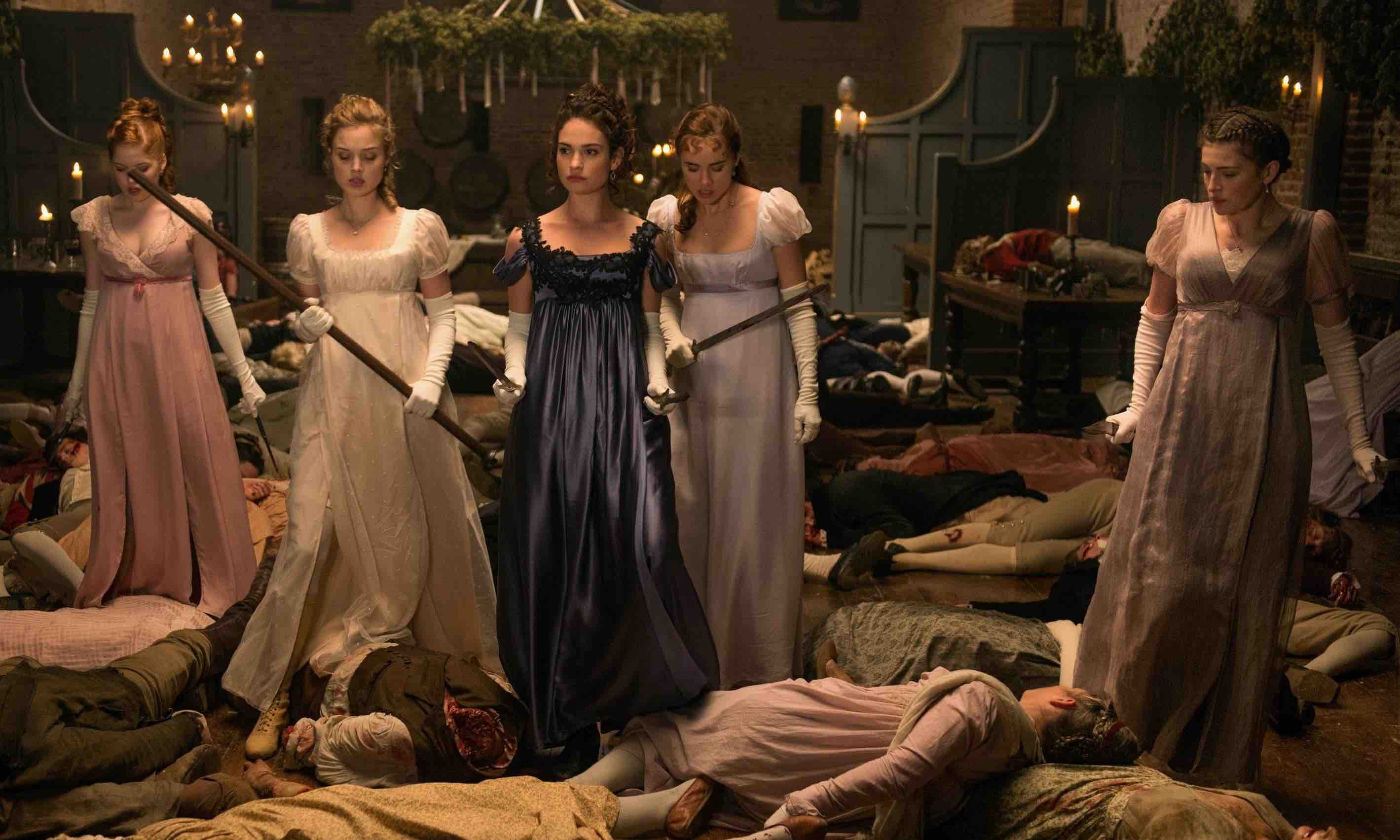BT TV Pride & Prejudice & Zombies