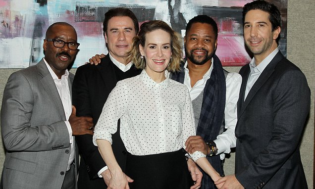 'American Crime Story: The People v. O.J. Simpson' TV series special luncheon, New York, America - 08 Dec 2015