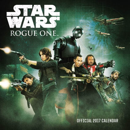 Star Wars 2017 Rogue One Calendar