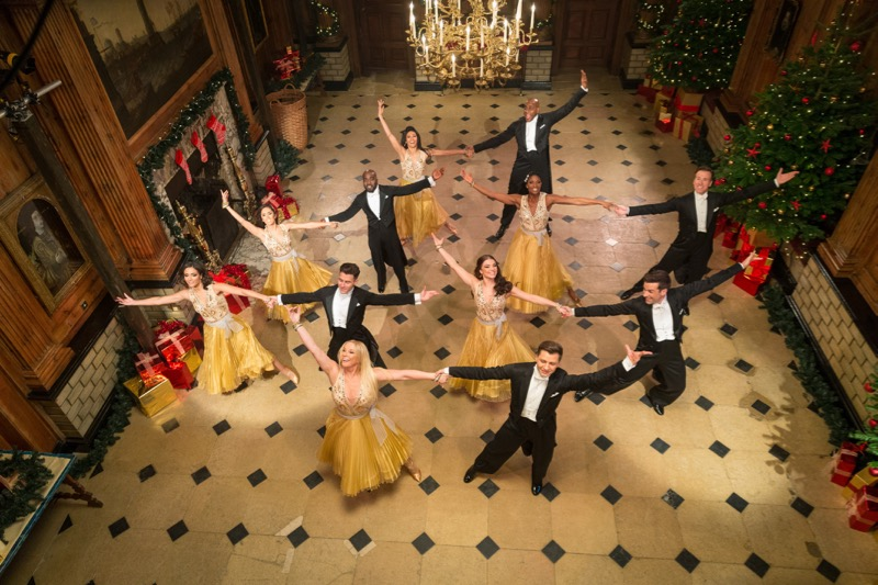 WARNING: Embargoed for publication until 00:00:01 on 03/12/2016 - Programme Name: Strictly Come Dancing 2016 - TX: n/a - Episode: Christmas Special 2016 (No. n/a) - Picture Shows: Cast of Strictly Come Dancing Christmas Special 2016 - (C) BBC - Photographer: Guy Levy