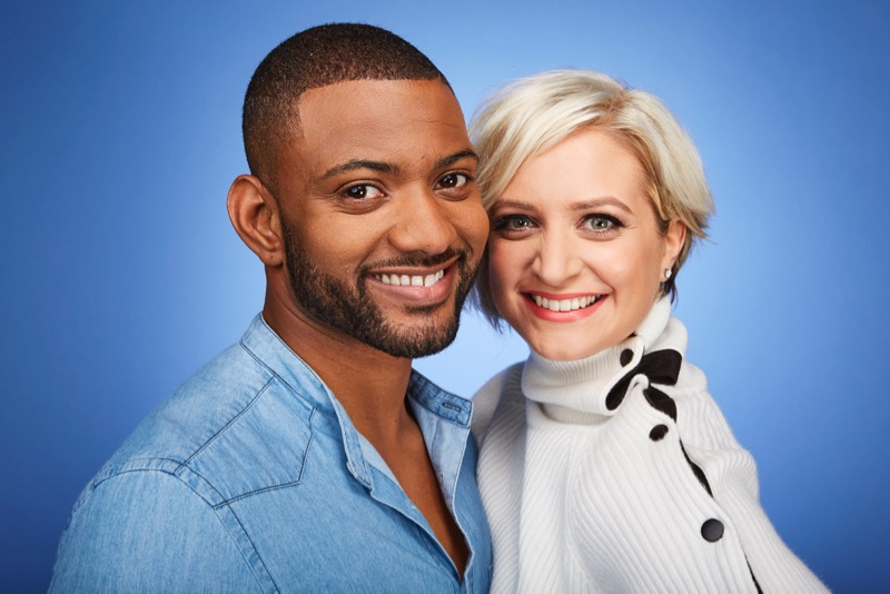 This image is strictly embargoed until 00.01 Tuesday 3rd January 2017 From ITV Studios Dance, Dance, Dance on ITV Pictured: JB and Chloe Gill. This photograph is (C) ITV Plc and can only be reproduced for editorial purposes directly in connection with the programme or event mentioned above. Once made available by ITV plc Picture Desk, this photograph can be reproduced once only up until the transmission [TX] date and no reproduction fee will be charged. Any subsequent usage may incur a fee. This photograph must not be manipulated [excluding basic cropping] in a manner which alters the visual appearance of the person photographed deemed detrimental or inappropriate by ITV plc Picture Desk. This photograph must not be syndicated to any other company, publication or website, or permanently archived, without the express written permission of ITV Plc Picture Desk. Full Terms and conditions are available on the website www.itvpictures.com For further information please contact: james.hilder@itv.com / 0207 157 3052