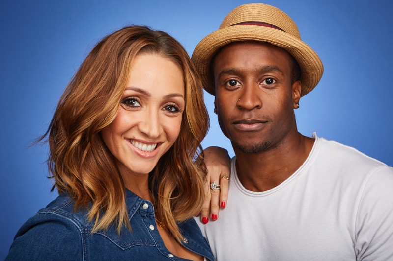 This image is strictly embargoed until 00.01 Tuesday 3rd January 2017 From ITV Studios Dance, Dance, Dance on ITV Pictured: Lucy-Jo Hudson and Rohan Pinnock-Hamilton. This photograph is (C) ITV Plc and can only be reproduced for editorial purposes directly in connection with the programme or event mentioned above. Once made available by ITV plc Picture Desk, this photograph can be reproduced once only up until the transmission [TX] date and no reproduction fee will be charged. Any subsequent usage may incur a fee. This photograph must not be manipulated [excluding basic cropping] in a manner which alters the visual appearance of the person photographed deemed detrimental or inappropriate by ITV plc Picture Desk. This photograph must not be syndicated to any other company, publication or website, or permanently archived, without the express written permission of ITV Plc Picture Desk. Full Terms and conditions are available on the website www.itvpictures.com For further information please contact: james.hilder@itv.com / 0207 157 3052