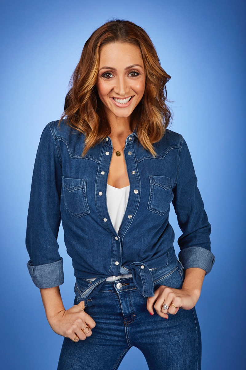 This image is strictly embargoed until 00.01 Tuesday 3rd January 2017 From ITV Studios Dance, Dance, Dance on ITV Pictured: Lucy-Jo Hudson. This photograph is (C) ITV Plc and can only be reproduced for editorial purposes directly in connection with the programme or event mentioned above. Once made available by ITV plc Picture Desk, this photograph can be reproduced once only up until the transmission [TX] date and no reproduction fee will be charged. Any subsequent usage may incur a fee. This photograph must not be manipulated [excluding basic cropping] in a manner which alters the visual appearance of the person photographed deemed detrimental or inappropriate by ITV plc Picture Desk. This photograph must not be syndicated to any other company, publication or website, or permanently archived, without the express written permission of ITV Plc Picture Desk. Full Terms and conditions are available on the website www.itvpictures.com For further information please contact: james.hilder@itv.com / 0207 157 3052