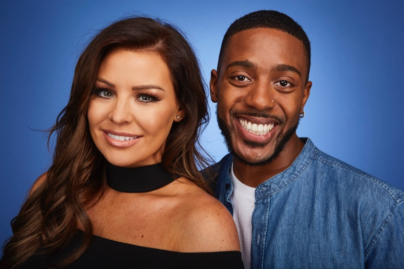 This image is strictly embargoed until 00.01 Tuesday 3rd January 2017 From ITV Studios Dance, Dance, Dance on ITV Pictured: Jess Wright and Duane Lamonte. This photograph is (C) ITV Plc and can only be reproduced for editorial purposes directly in connection with the programme or event mentioned above. Once made available by ITV plc Picture Desk, this photograph can be reproduced once only up until the transmission [TX] date and no reproduction fee will be charged. Any subsequent usage may incur a fee. This photograph must not be manipulated [excluding basic cropping] in a manner which alters the visual appearance of the person photographed deemed detrimental or inappropriate by ITV plc Picture Desk. This photograph must not be syndicated to any other company, publication or website, or permanently archived, without the express written permission of ITV Plc Picture Desk. Full Terms and conditions are available on the website www.itvpictures.com For further information please contact: james.hilder@itv.com / 0207 157 3052