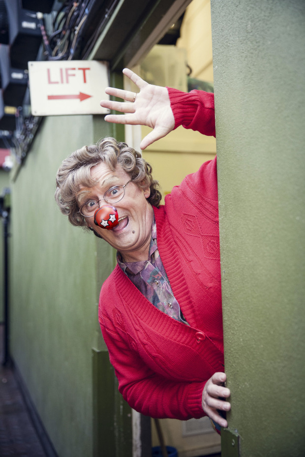 Programme Name: Red Nose Day 2017 - TX: 24/03/2017 - Episode: n/a (No. n/a) - Picture Shows: Mrs Brown (BRENDAN O'CARROLL) - (C) Comic Relief - Photographer: Unknown