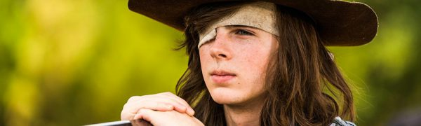 The Walking Dead's Carl tweets about season 8 script