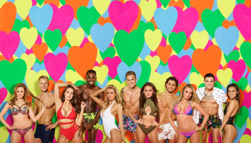 This image is strictly embargoed until 00.01 Tuesday 30th May 2017 From ITV Studios Love Island: SR3 on ITV2 Pictured: Back row: Harley, Marcel, Dominic, Kem and Sam. Front row: Olivia, Jessica, Camilla, Amber, Chloe and Montana. This photograph is (C) ITV Plc and can only be reproduced for editorial purposes directly in connection with the programme or event mentioned above, or ITV plc. Once made available by ITV plc Picture Desk, this photograph can be reproduced once only up until the transmission [TX] date and no reproduction fee will be charged. Any subsequent usage may incur a fee. This photograph must not be manipulated [excluding basic cropping] in a manner which alters the visual appearance of the person photographed deemed detrimental or inappropriate by ITV plc Picture Desk. This photograph must not be syndicated to any other company, publication or website, or permanently archived, without the express written permission of ITV Plc Picture Desk. Full Terms and conditions are available on the website www.itvpictures.co.uk. For further information please contact: james.hilder@itv.com / 0207 157 3052