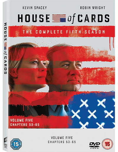 HouseofCardsS5DVD